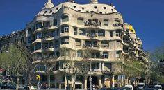 La Pedrera (Casa Milà) à Barcelona, Cataluña