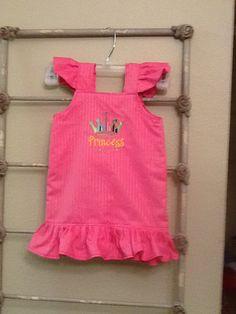 Pink Princess Sundress by GrandmasSewingStudio on Etsy, $15.15