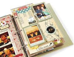 Scrapbook using memory books