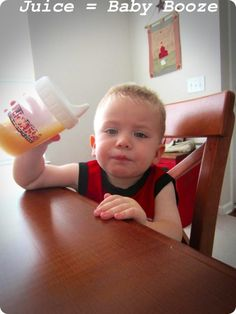 Why I'm Weird About My Kid Drinking Juice | The Dadabase