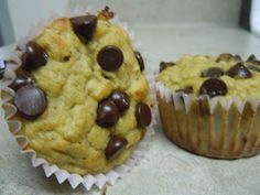 Your Paleo Recipes: Banana Chocolate Chip Muffins