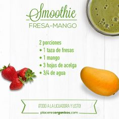 Best Free of Charge Thoughts Whether creamy break fast Consume or fruity refreshment among – Smoothies only generally go. Detox Recipes, Veggie Recipes, Baby Food Recipes, Juice Recipes, Healthy Drinks, Healthy Tips, Healthy Recipes, Juice Smoothie, Frappe