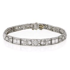 Tiffany & Co. Art Deco bracelet circa 1920