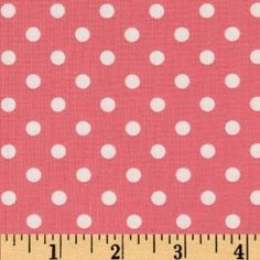 44'' Wide Michael Miller Dumb Dot Petal Fabric By The Yard
