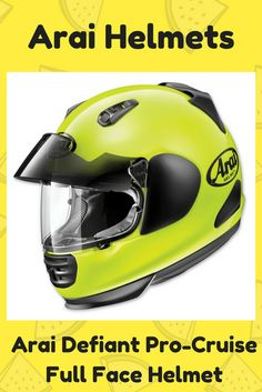 All Arai helmets are made by hand. All the Arai helmets sold in the US are manufactured to meet or exceed the Snell Memorial Foundation safety standards. Motorcycle Helmets, Bicycle Helmet, Arai Helmets, Full Face Helmets, Make Money Online, Safety, Exceed, Foundation, Meet