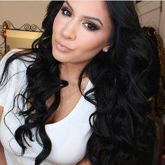 #ShareIG✨@rositaapplebum's Instagram Photo | Long black hair.