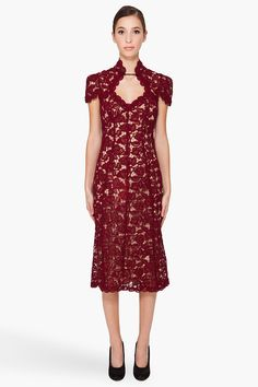 Marc Jacobs: EMBROIDERED DRESS
