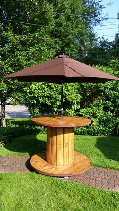 Outdoor Table (Cable Reel)