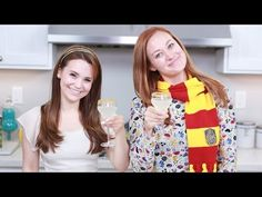 HARRY POTTER LIQUID LUCK ft Mamrie Hart - NERDY NUMMIES - YouTube I so want to do the non-alcohol version!
