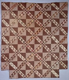 1850 - 1875 Pieced Quilt   National Museum of American History