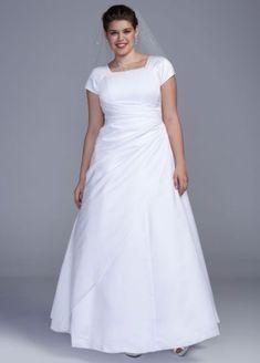 Plus Wedding Dresses, Pretty Wedding Dresses, Affordable Wedding Dresses, Gorgeous Wedding Dress, Plus Size Wedding, Wedding Dress Styles, Bridal Dresses, Wedding Gowns, Bridal Outfits