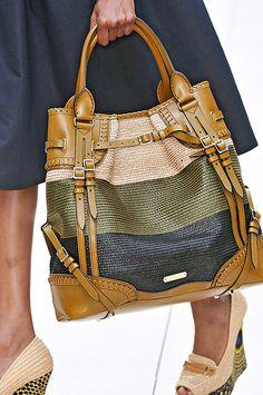 superb Burberry bag