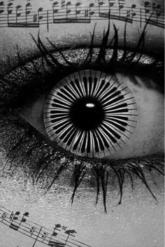 That's my eye:) #music #quotes #eyes