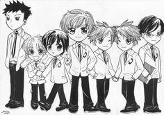 Chibi Ouran High Host Club by ~hakuyukiko on deviantART #manga