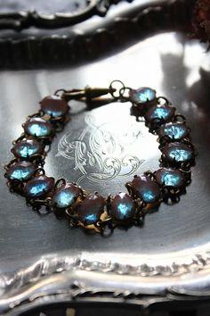 「アンティークジュエリー サフィレットブレスレット 」ココン・フワット Coconfouato [アンティーク照明&アンティーク家具] アンティークジュエリー ロザリオ ジュエリー シルバー リング ブローチ ネックレス 指輪 --jewelry--