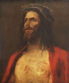 Munkácsy Mihály (1844-1900) - Krisztusfej Munkácsy Mihály Múzeum - Békéscsaba - Alföld