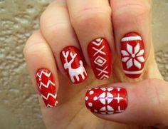 Ochristmas nails