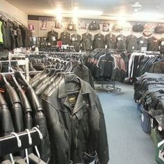 Leather Headquarters - Las Vegas, NV, United States. Men's dept.