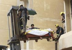 A Saudi Arabia man who may be the heaviest person in the world is now getting proper medical treatment — thanks to his king. Khalid Mohsen Shaeri, who weighs 1,345 pounds, was extracted from his Jazan home and airlifted to a medical facility in the capital city of Riyadh on Monday, Arab News reported.