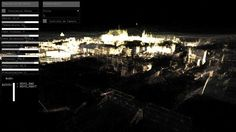 Dérive [data::simulation] François Quévillon by Perte de Signal. Dérive de François Quévillon. http://www.creativeapplications.net/openframeworks/the-variable-city-francois-quevillons-derive/#