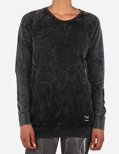 iriedaily - Jazzie Vintage Sweat black wash