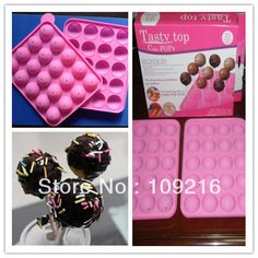 Aliexpress.com : Buy Free shipping!! New Style 20 Lollipop Green Good Quality 100% Food Grade Silicone  Cake/Chocolate/Muffin Cupcake Pan DIY Mold from Reliable Silicone Cake Mold suppliers on Silicone DIY Mold and  Home Supplies Store $12.68 Chocolate Muffins, Cake Chocolate, Ice Candy, Diy Cake, Diy Molding, Soap Molds, Cake Mold, Food Grade, Cooking Tips