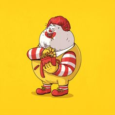 This Is What Your Favorite Cartoon Characters Would Look Like If They Were Morbidly Obese (Photos)