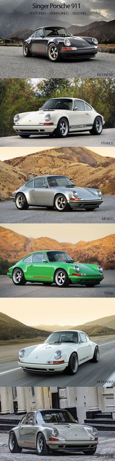 Singer Porsche 911 - All design. Ultimate question : which one would you choose ?