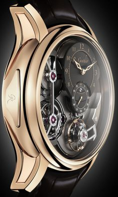 CLASS ..... Romain Gauthier - Logical One. Voted Best  Mens Complication Watch 2013