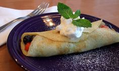Gluten-Free Coconut Flour Berry Crepes