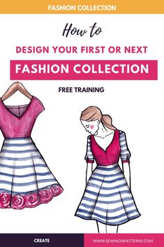 How to Design a Fashion Clothing Line in a Week (Free Mini Course)