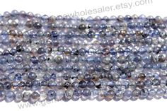 Iolite Smooth Round Quality B / A pack of 5 by GemstoneWholesaler