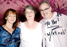 Bonnie Friedericy, John Billingsley and me, 2010 John Billingsley, People Of The World, Actors, T Shirts For Women, Fashion, Moda, Fashion Styles, Fashion Illustrations, Actor