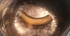 Banana and Banana Peel Tea with Cinnamon for a Good Night's Sleep - Recipe