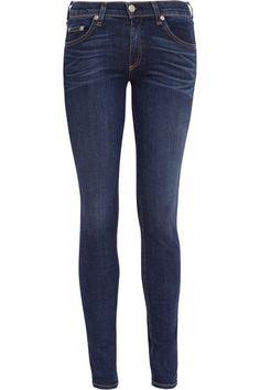mid-rise skinny jeans / rag & bone
