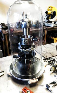 Bell jar sculpture coming right along!