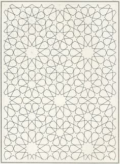 BOU 120 : Les éléments de l'art arabe, Joules Bourgoin | Pattern in Islamic Art