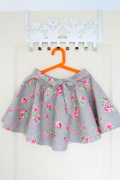 e608c7e20 Circle skirts are not only cute but comfy too! A great project for beginner  sewists