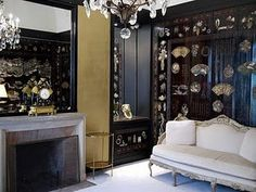 Coco Chanel apartment...beautiful chinoiserie