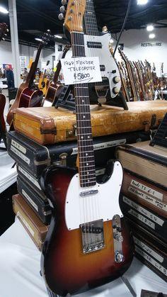 1967 Fender Telecaster Sunburst #Guitar @fender
