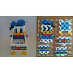 Donald Duck box hama beads