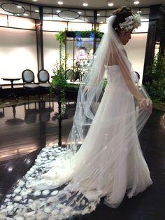 03-6594 CELESTINA AGOSTINO セレスティナ アゴスティーノ Veil, Wedding Dresses, Fashion, Bride Dresses, Moda, Bridal Gowns, Fashion Styles, Veils