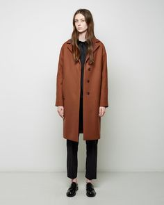 JIL SANDER | Vancouver Coat | Shop at La Garçonne