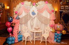 Cinderella Party in München-Deko von FlyBalloons