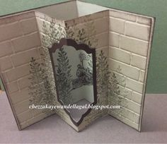 "Cheryl Algie ""Independent Stampin' Up! ® Demonstrator"" : Traveler Tunnel Card"