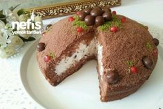 Pişmeyen Köstebek Pasta (10 Dakikada)