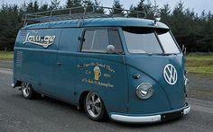 The Lounge, 1965 panel van. Classic VW Camper vans