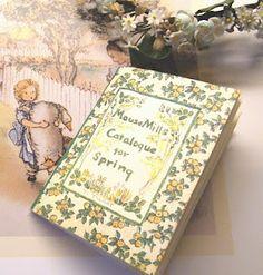 Rare Miniature Book By Tasha Tudor