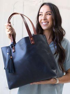 Blue Leather Tote For Women Large Blue Leather Bag Leather Purse Handbag Laptop Bag Handmade in Ariz
