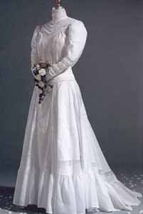 miss edwardian wedding gown historical roleplaying fantasy costume
